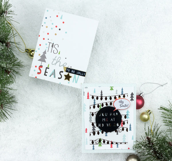 Oh Joy Christmas Cards by Taheerah