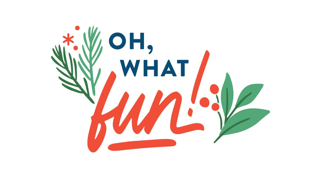 Paper Collection Reveal: Oh What Fun + Giveaway