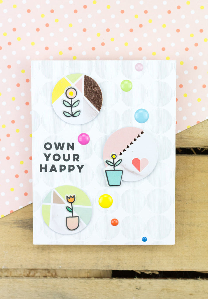 Own Your Happy Card by Taheerah Featuring The Live More Collection