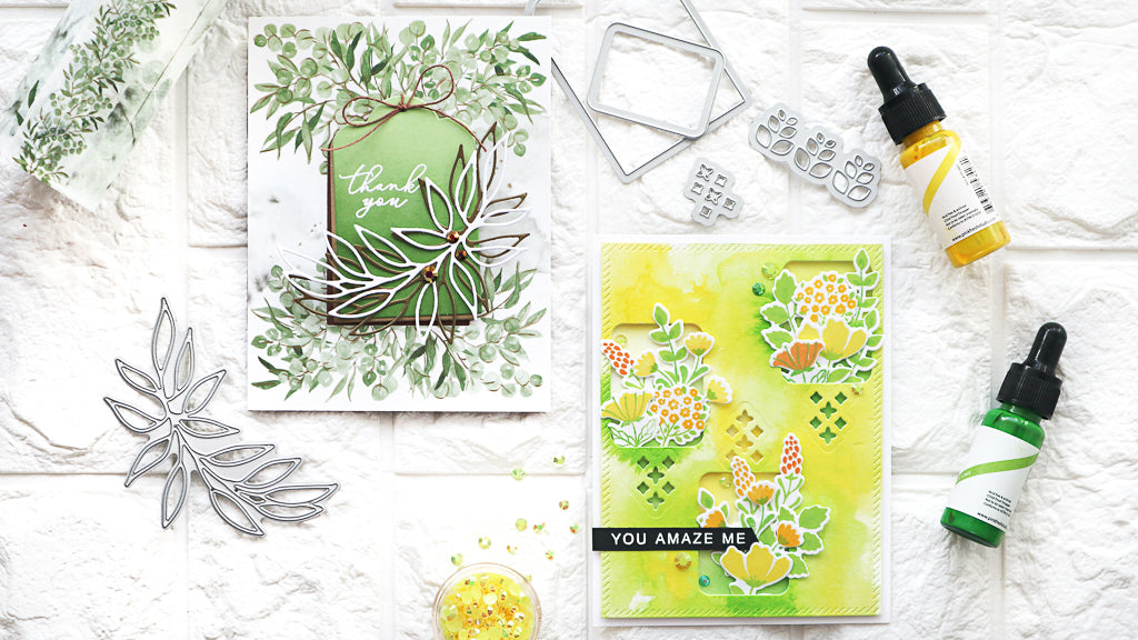 Cardmaking using Essentials:Fillable Tag with Pocket | TaeEun Yoo