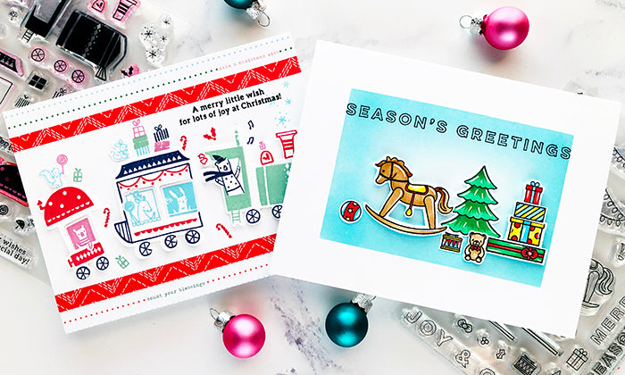 Train Ride & Merry and Bright Toy Shop | Caly Person