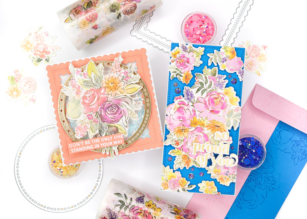 Pairing Washi with Essentials Dies   Jenny Colacicco