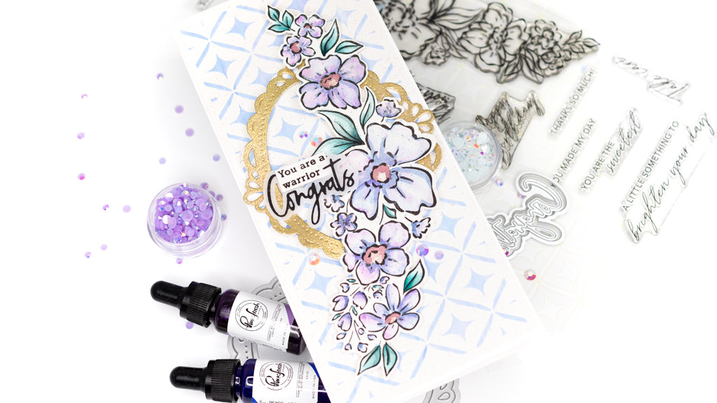 Watercolored Floral Notes | Jenny Colacicco