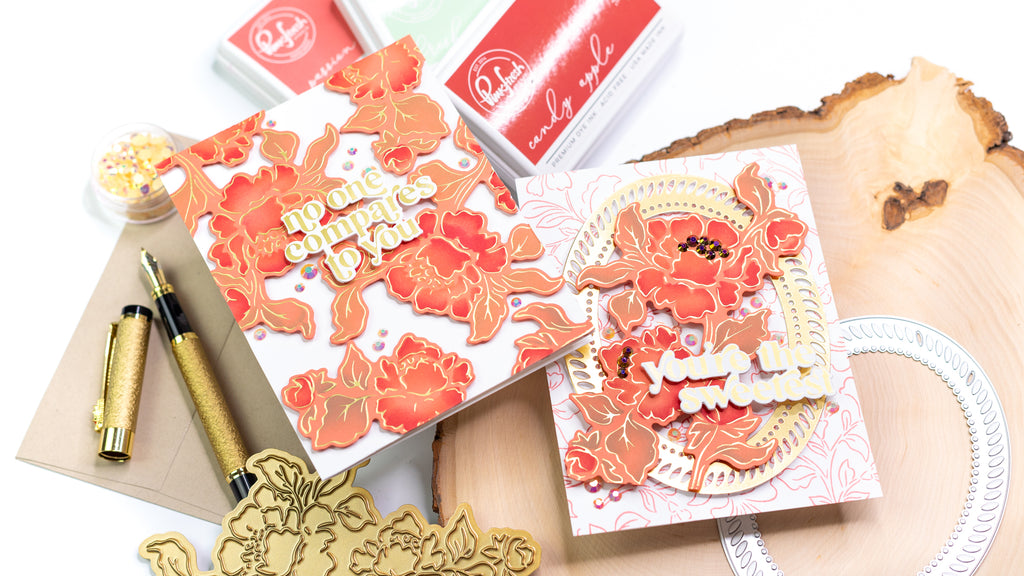 Hot Foiling On Colored Cardstock | Jenny Colacicco