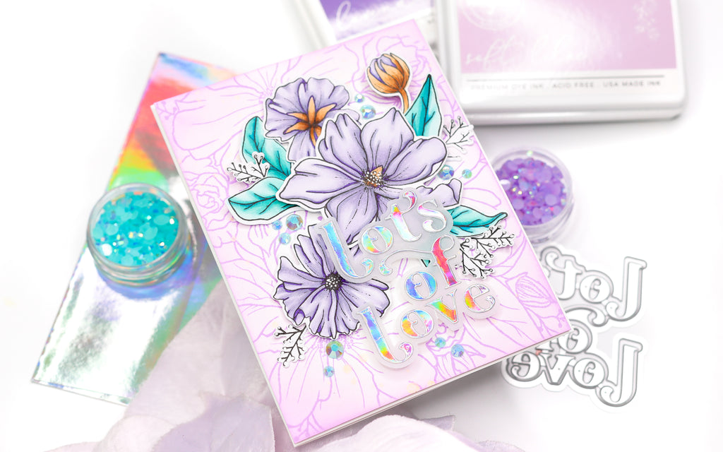 Combining Floral Stamps   Jenny Colacicco