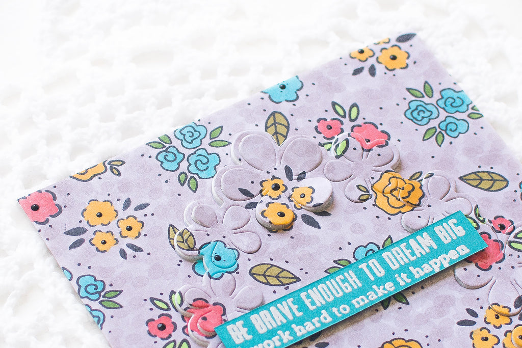 Video: Custom Background Card using Small Stamps with May Sukyong Park