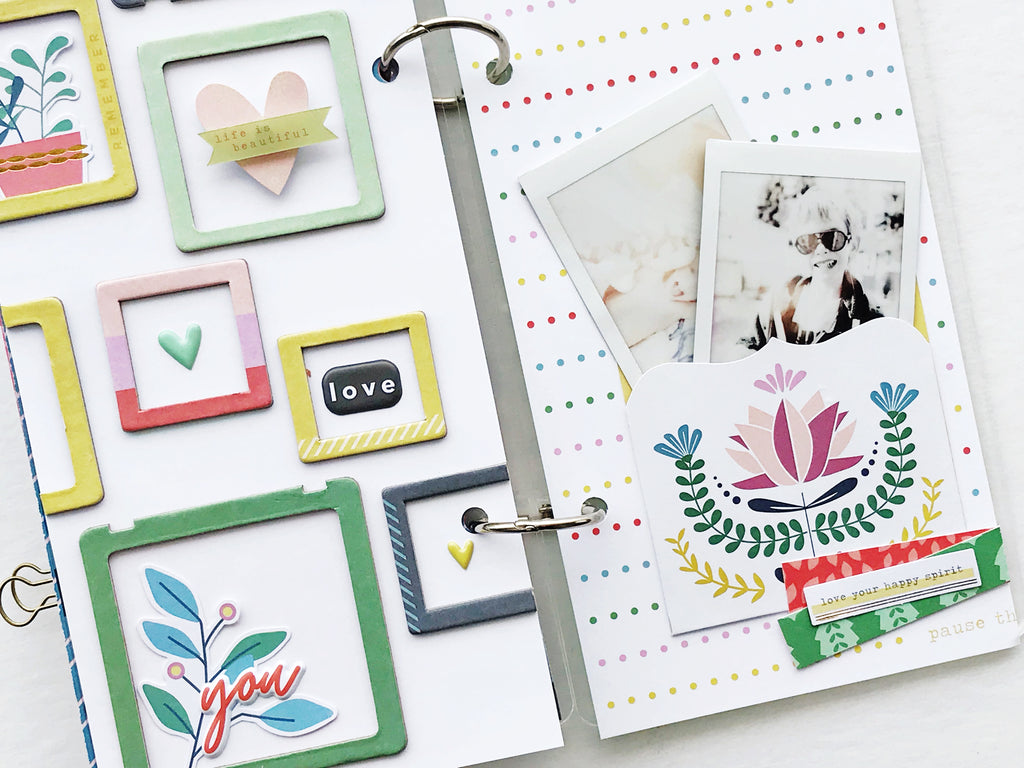 Everyday Musings Layouts | Amy Jo Vanden Brink