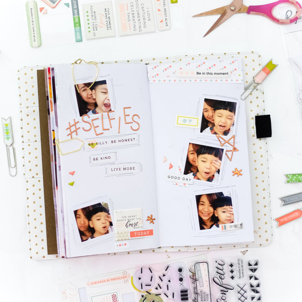Two Travelnotebook Spread - Live More With Evelyn Pratiwi Yusuf