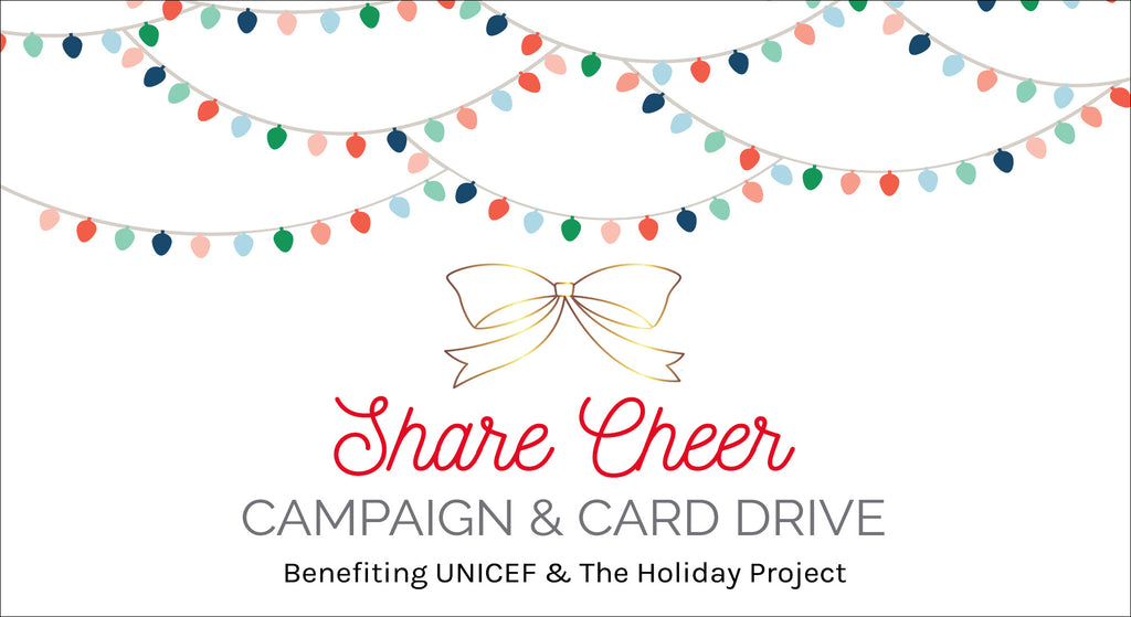 Share Cheer Campaign & Card Drive