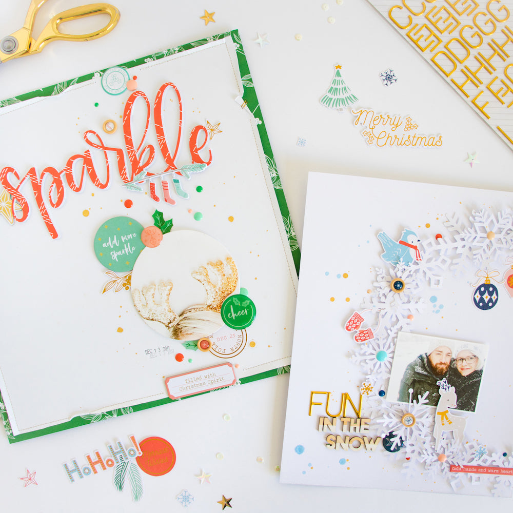 Holiday Vibes Layout Inspiration | Kathleen Graumüller