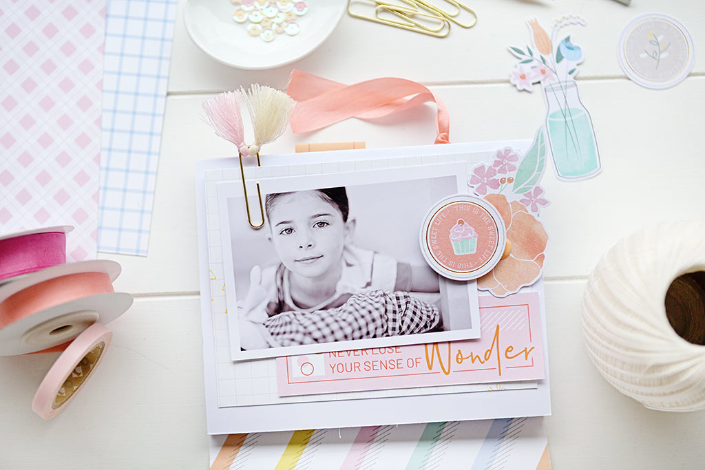 Sweet & Simple Mini album - Stephanie Dagan