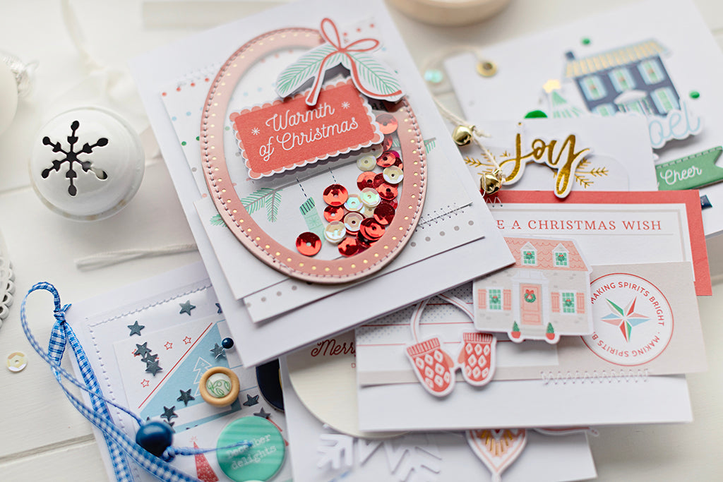 Holiday Vibes cards in boxe - Stephanie Dagan