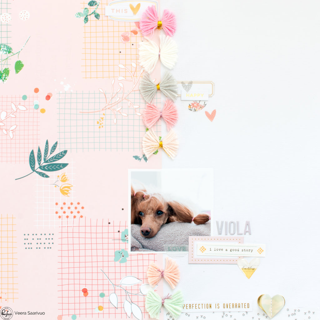 June Monthly Challenge Layout with Veera