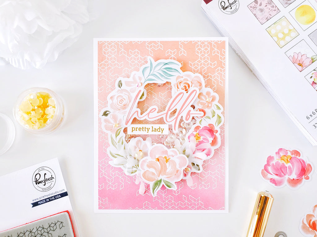 Celebrate Ephemera Shaker Card┃Yasmin Diaz