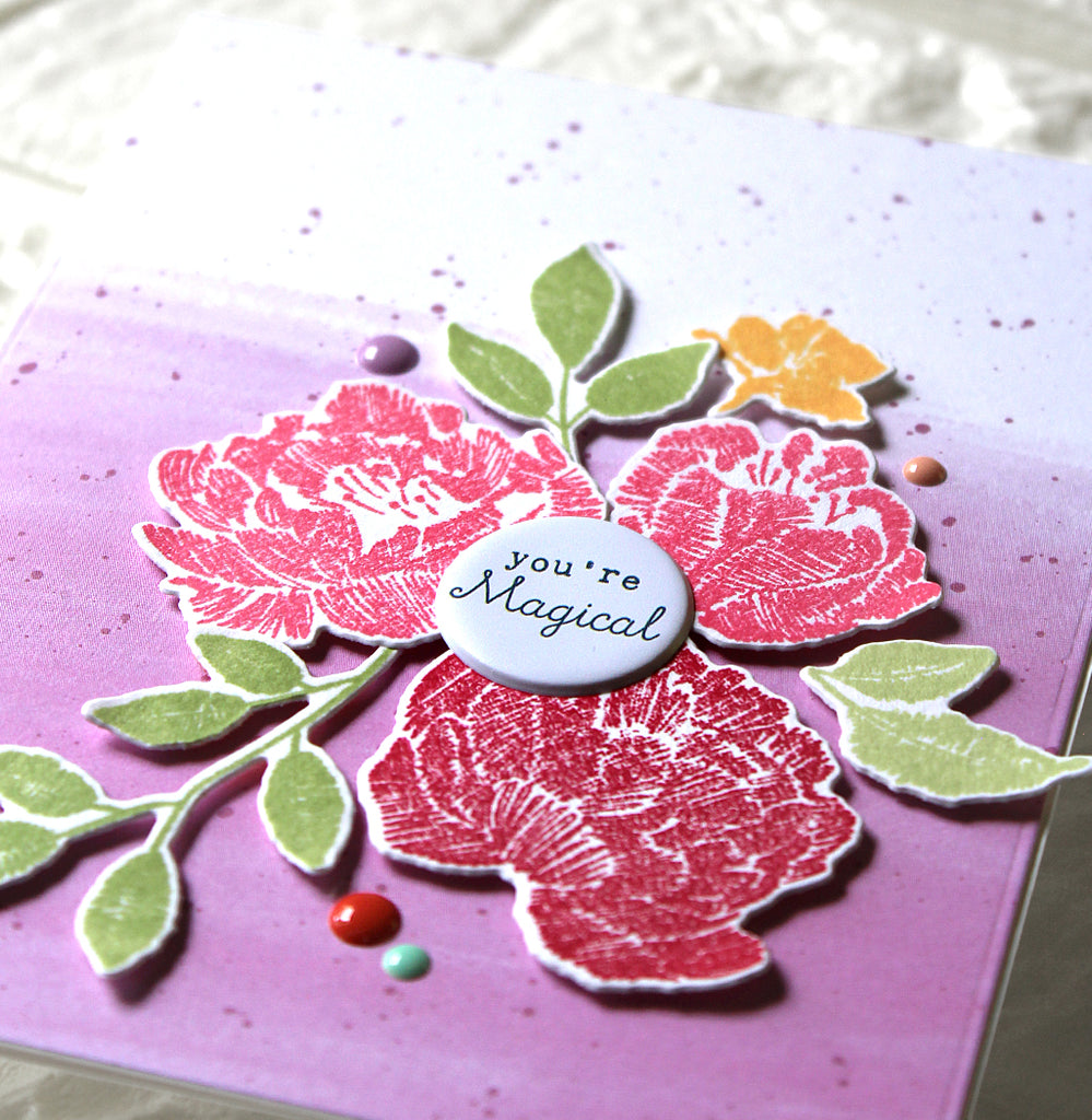 Simple Floral Cards | Yoonsun Hur