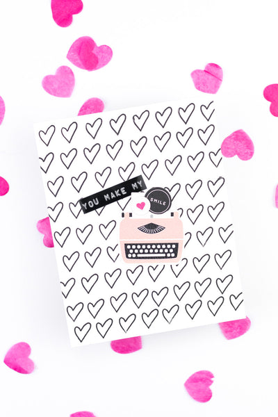 Love-Themed Card featuring The Mix No. 1 by Taheerah