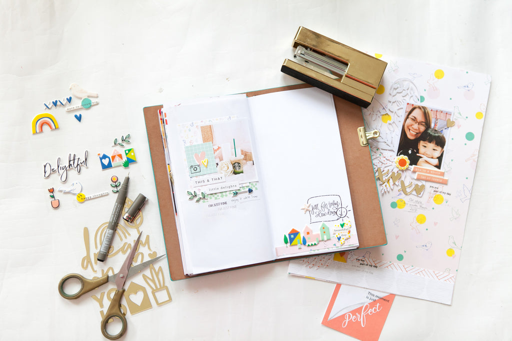 Hello Spring Layout and Coffee Spread With Evelynpy