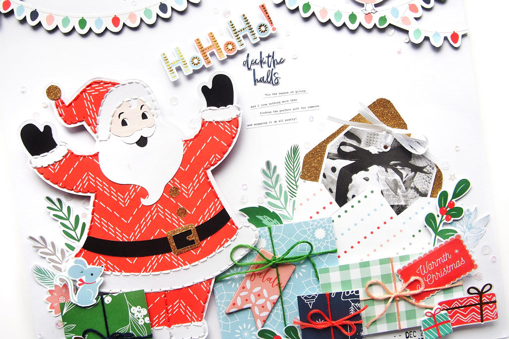 Festive Scrapbooking with Holiday Vibes | Elsie Robinson