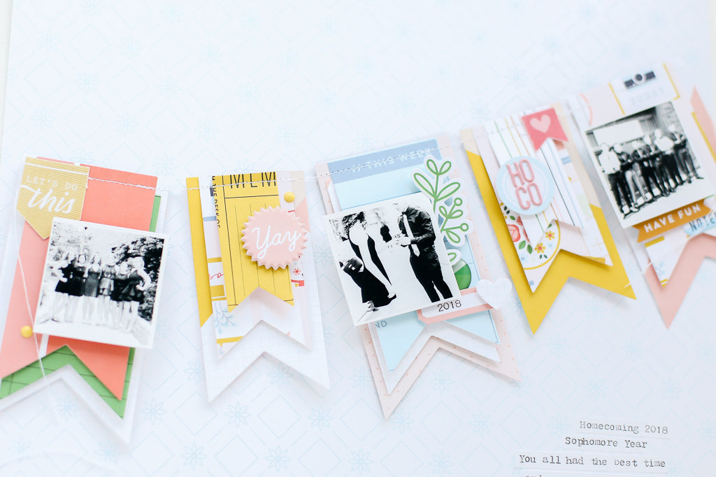 Office Hours Scrapbook Layout | Erica Thompson