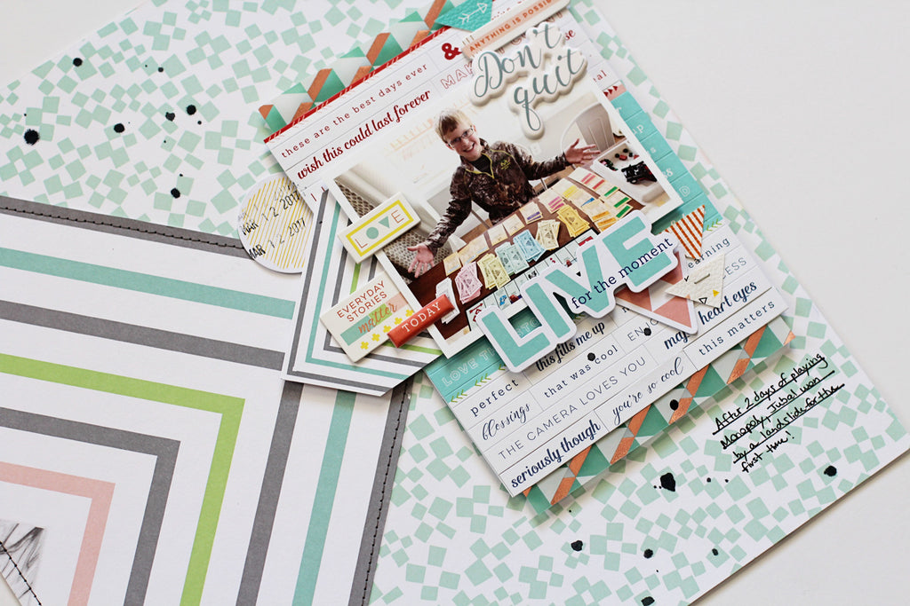 Two Layouts Using The Newest Pinkfresh Studio Collections