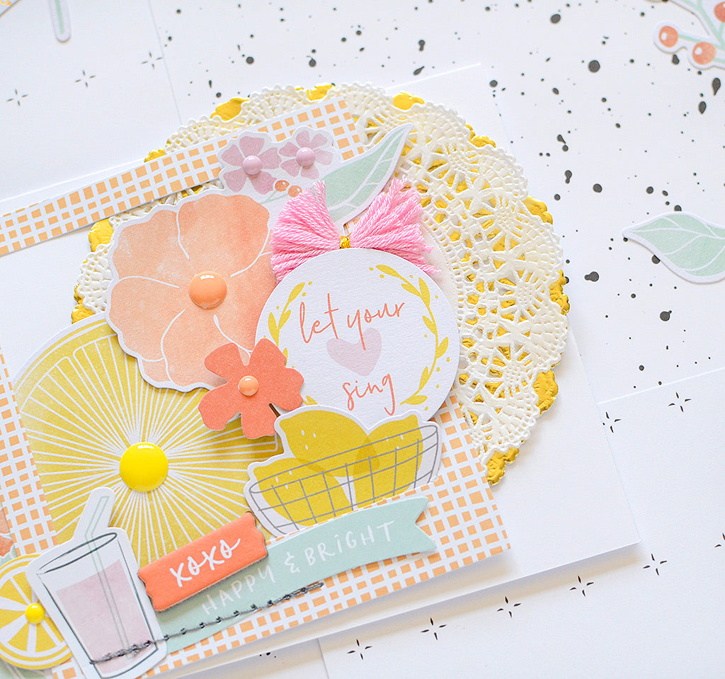 Simple & Sweet Cards | Rebecca Luminarias