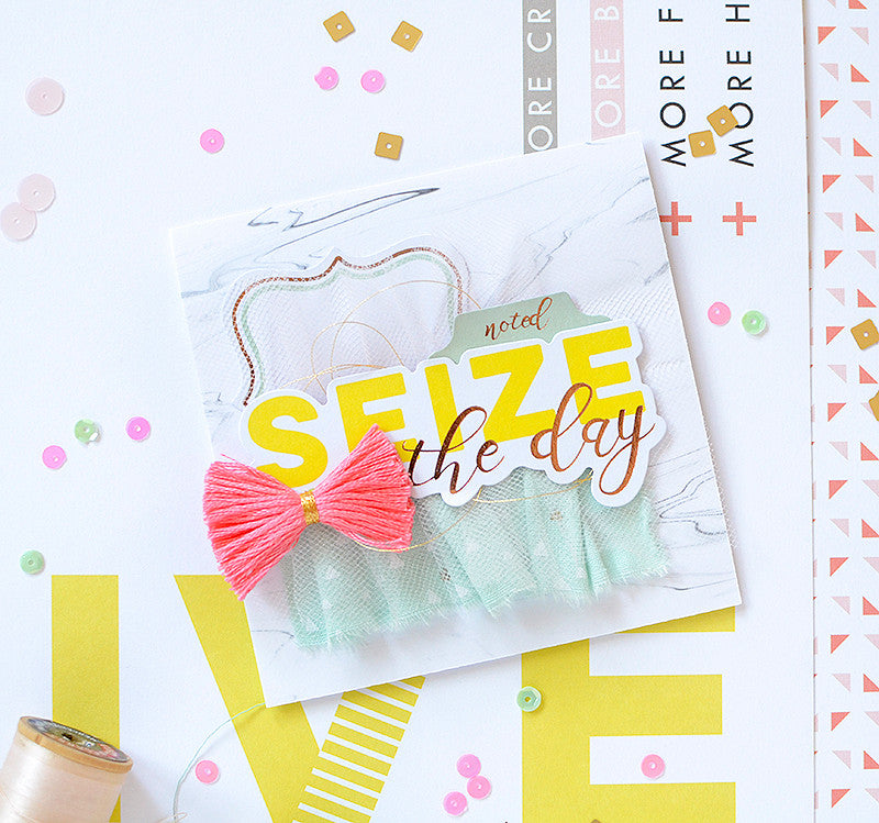 Bright & Fun Cards with Live More by Rebecca