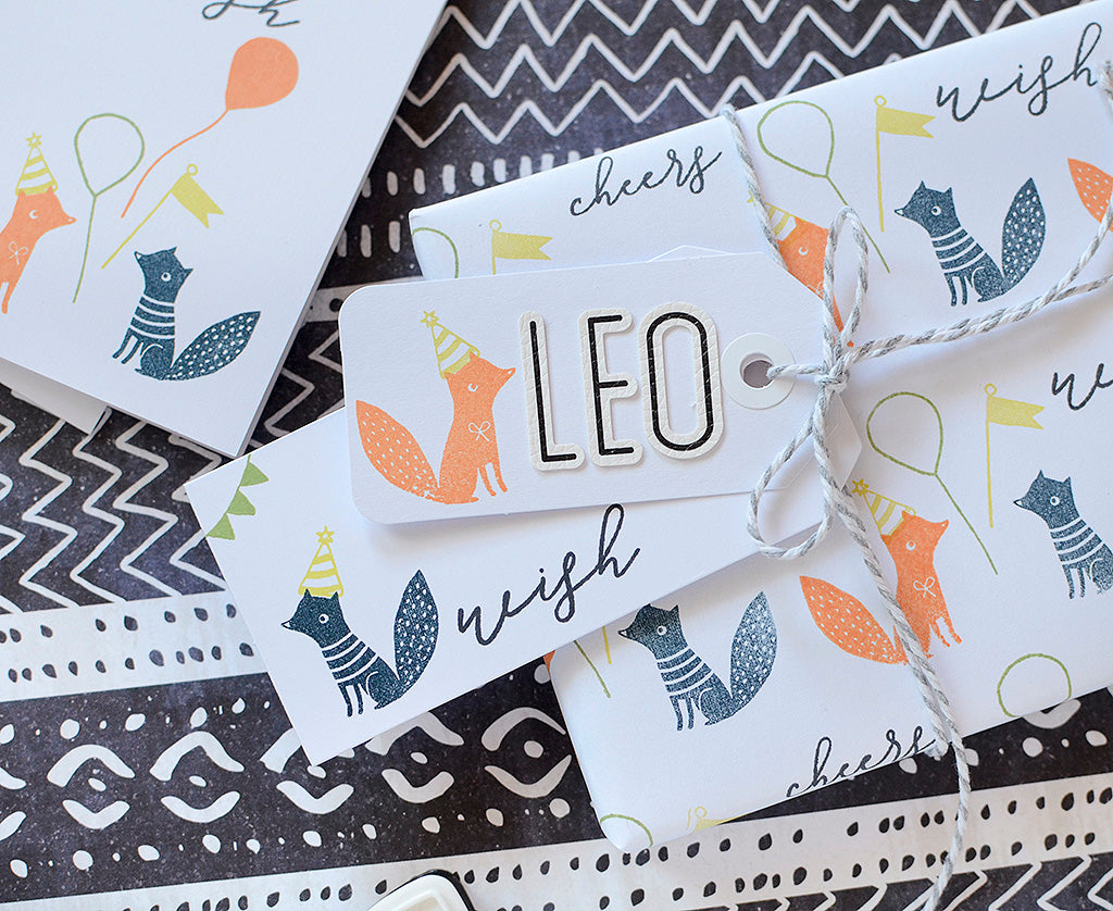 Stamped Wrapping Papers & Coordinates | Rebecca Luminarias