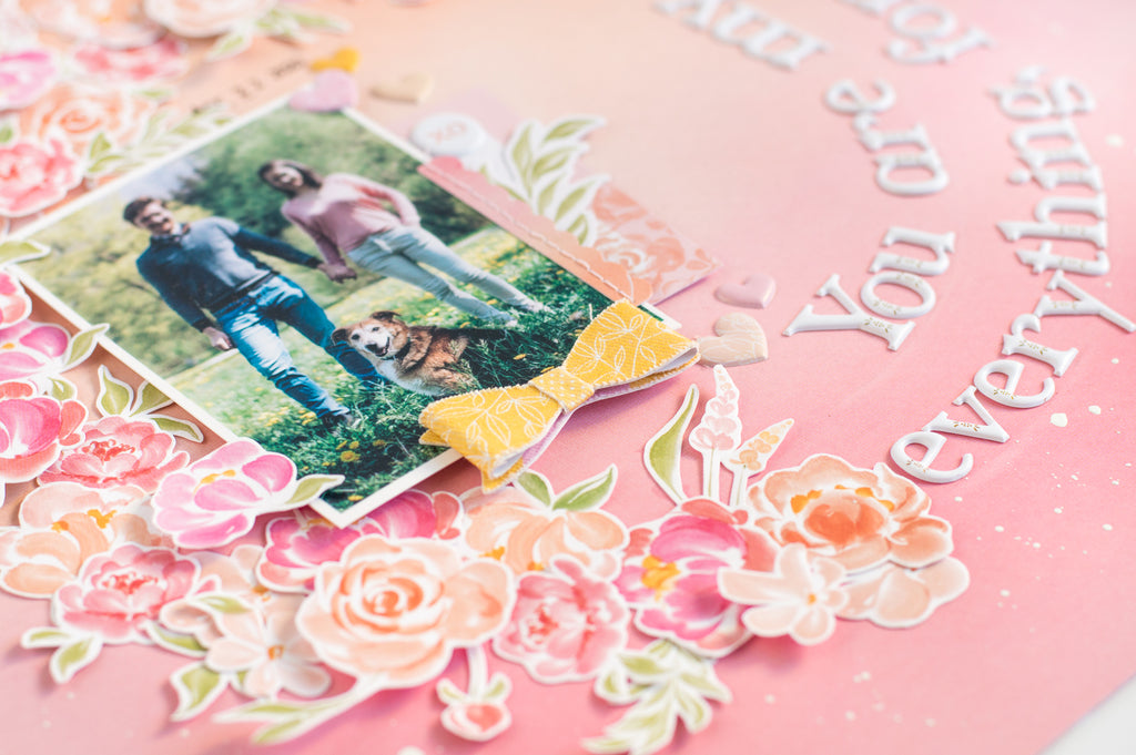 Wreath Layout with Celebrate Collection I Flóra Farkas