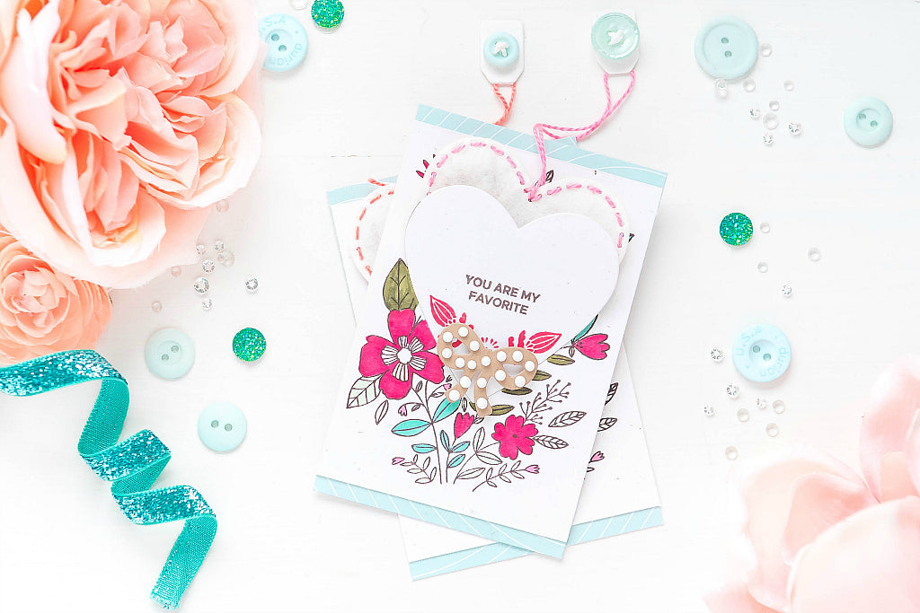 Valentine's Day Card Ideas + Tutorial | Ivana Camdzic