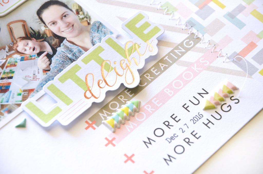 Live more layout and card with Flora Farkas