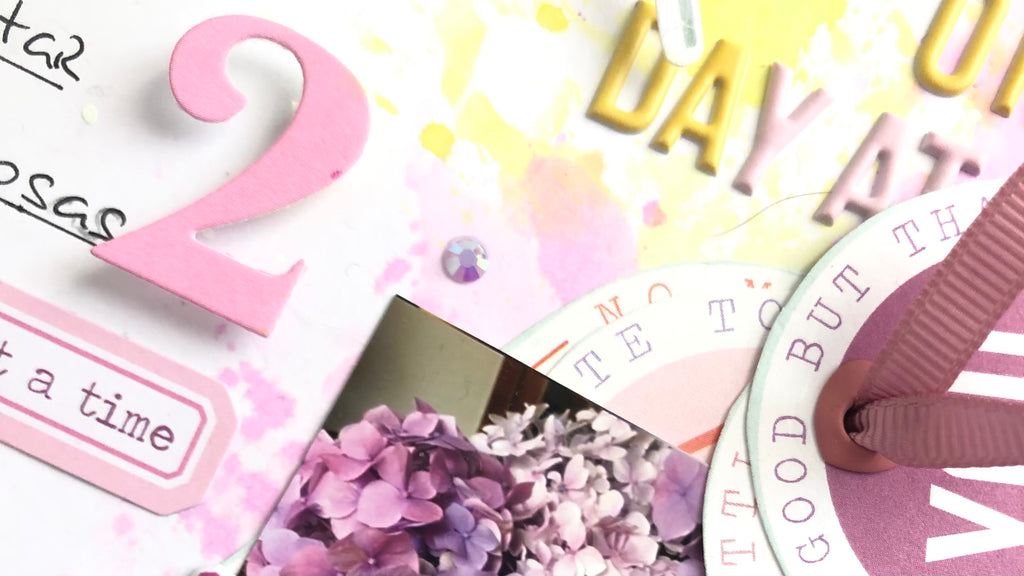 One Day at a time Layout | Susi Becerra