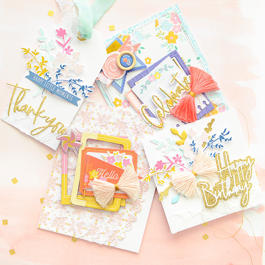 Joyful Day Springtime Cards | Rebecca Luminarias