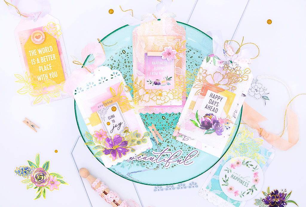 Just a (Few) Little Lovely Tags | Rebecca Luminarias