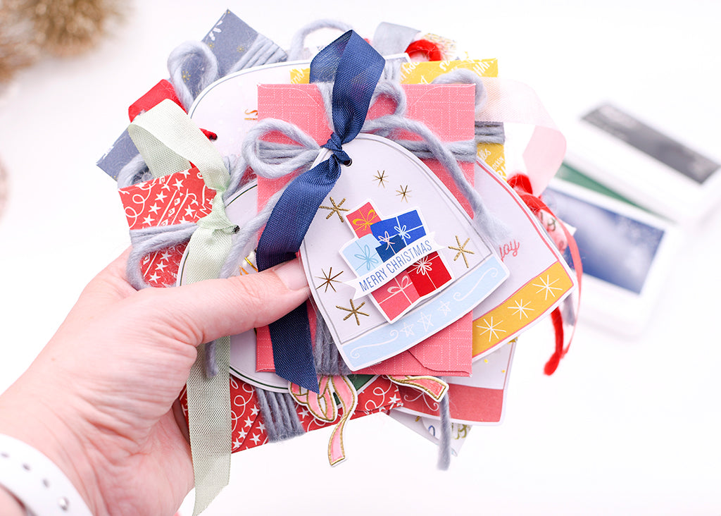 Snow Globe Tags w/ Gift Card Holders | Rebecca Luminarias
