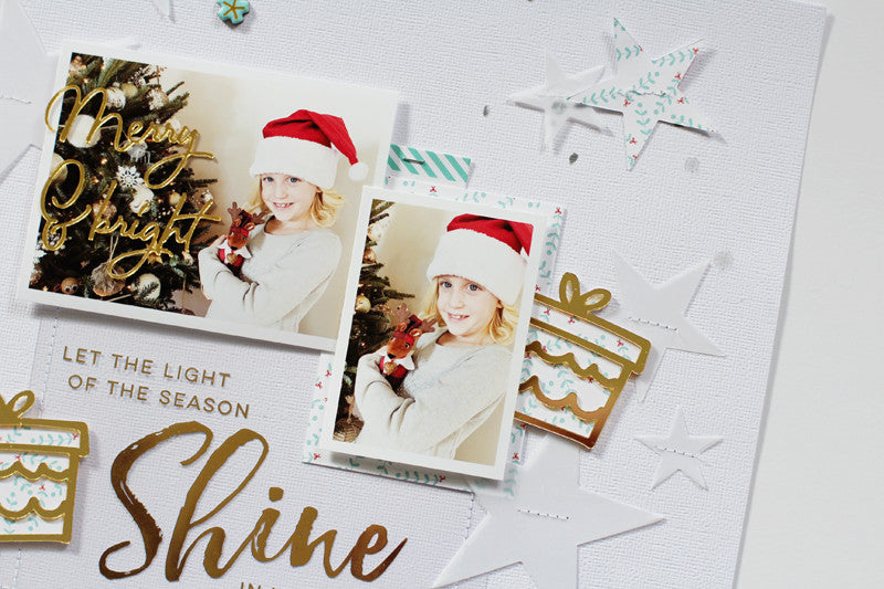 Holiday Layouts Using the Oh Joy Collection