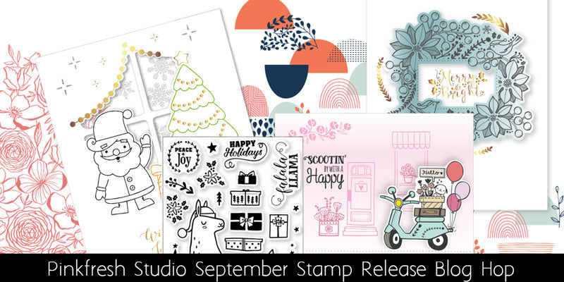 Pinkfresh Studio Stamp & Die Release Blog Hop