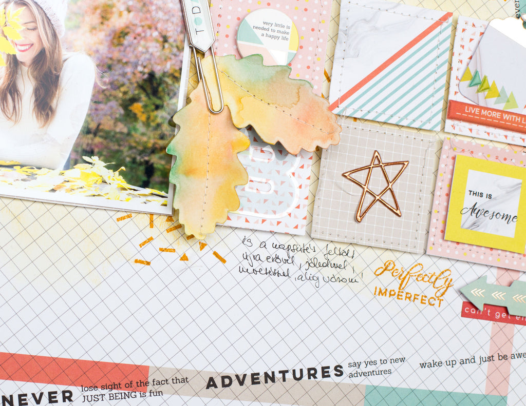 Layout with Live More collection - Bea Valint