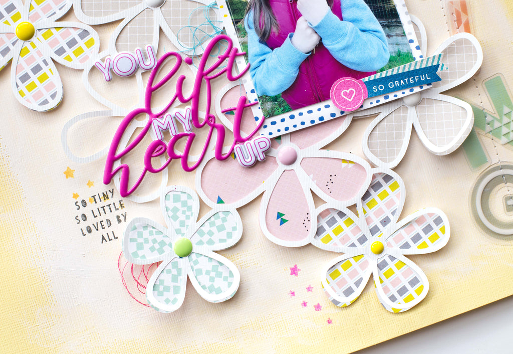 Springtime layouts with Bea Valint