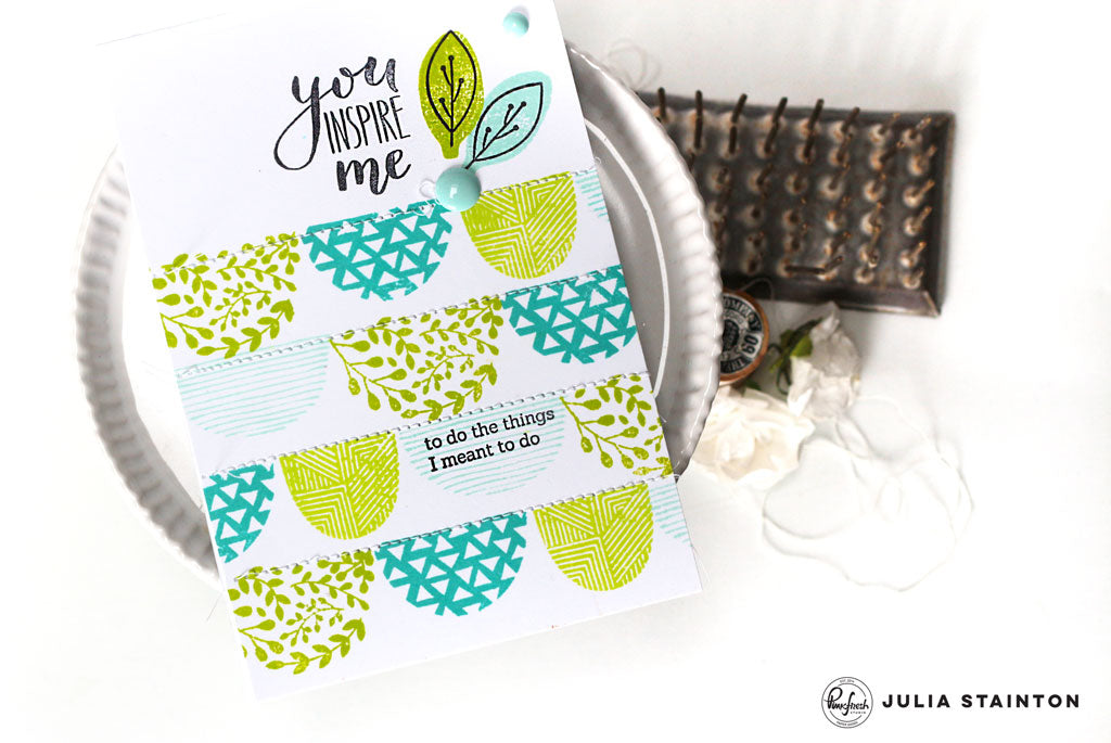 Trio of Stamping Tips with Julia