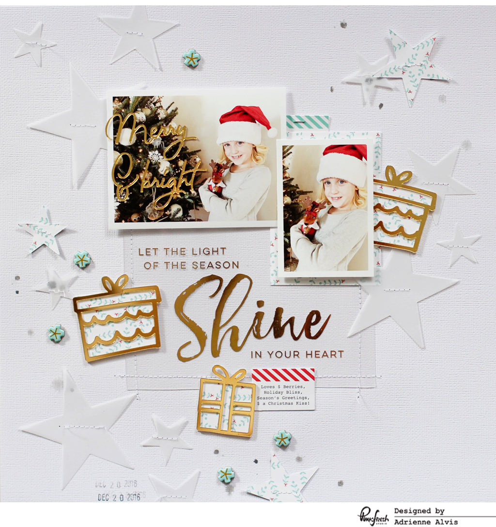 Holiday Layouts Using the Oh Joy Collection – Pinkfresh Studio