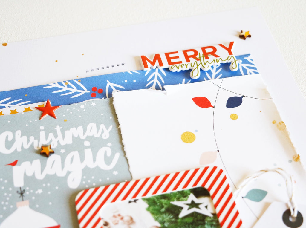 Christmas Magic by ScatteredConfetti // #scrapbooking #pinkfreshstudio #decemberdays