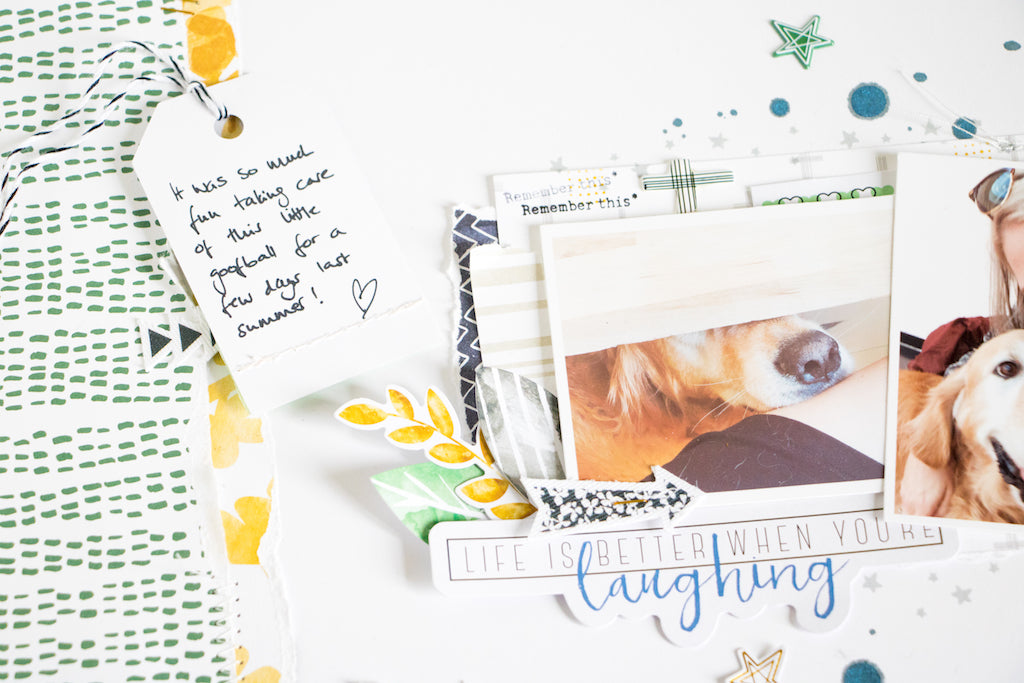 "Enzo Layout by ScatteredConfetti using ""Escape the Ordinary"" // #scrapbooking #pinkfreshstudio"