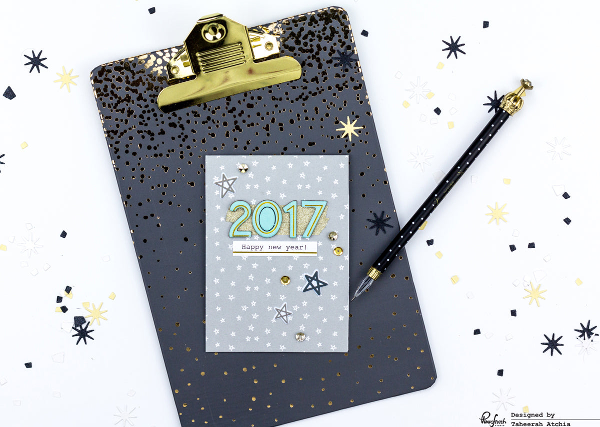 Happy New Year 2017 Card by Taheerah Atchia