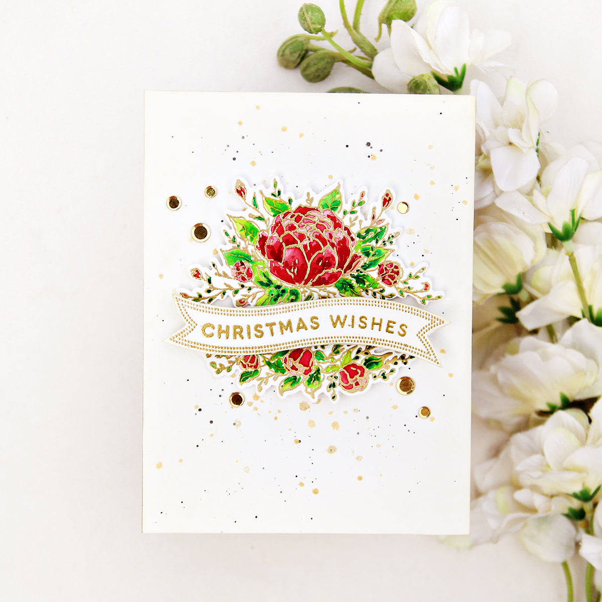 Video: Elegant Christmas Card | Erum Tasneem – Pinkfresh Studio