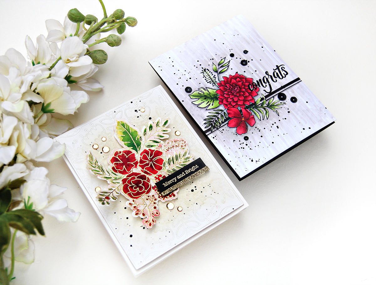 Pinkfresh Studio Fancy Blooms | Erum Tasneem | @pr0digy0