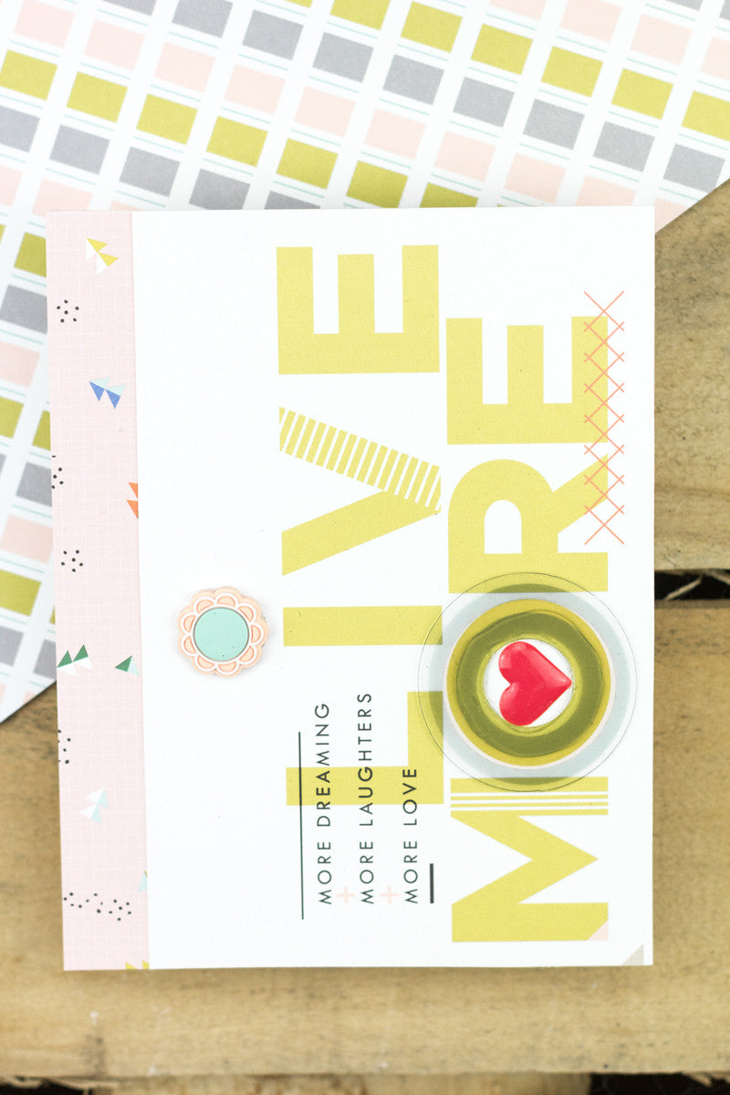Live More Card by Taheerah Atchia