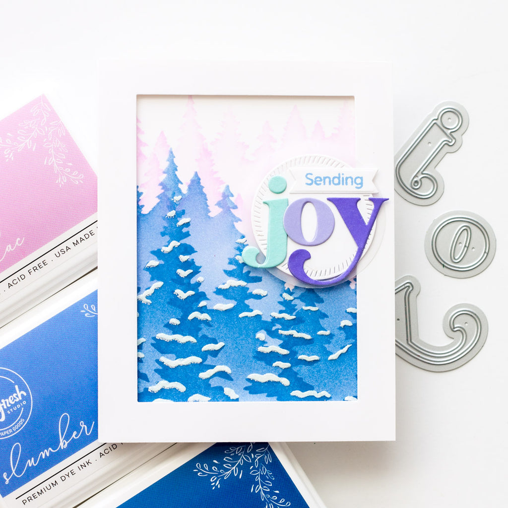 Sparkling Wintry Forest | Angela Simpson