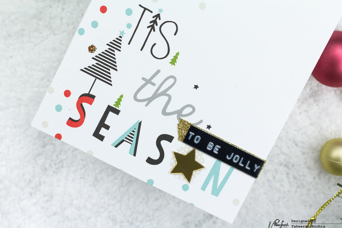 'Tis The Season Christmas Card by Taheerah Atchia