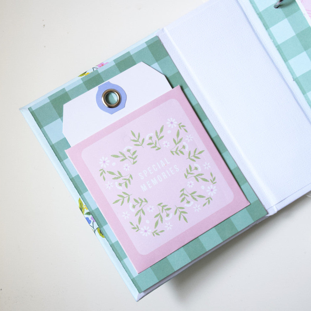 Mini album using Happy Blooms Collection by Pink Fresh Studi
