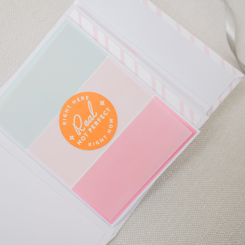 Mini album using Keep it real collection by Pink Fresh Studio